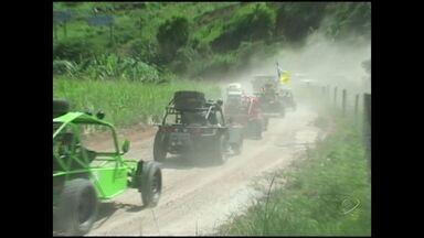 Rally das Falésias acontece neste sábado, em Cachoeiro, Sul do ES - O evento tem o objetivo de divulgar o potencial turístico da região.