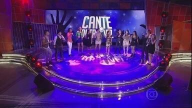 Eliminados no The Voice se apresentam e disputam o Cante Outra Vez - Luciano Huck explica como será a dinâmica do quadro