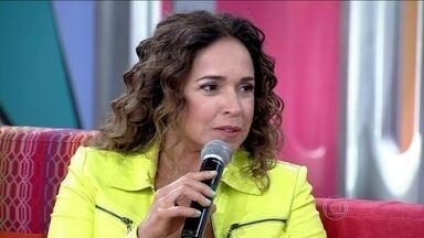 Daniela Mercury conta que assumir sua relação está ajudando outros casais - A companheira da atriz, Malu, ressalta: 'Inevitavelmente me senti famosa'