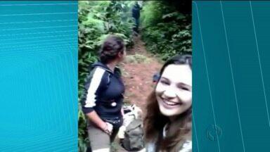 Grupo é assaltado por homem armado na Trilha do Itupava - O grupo de 16 jovens foi rendido por um homem armado que roubou vários objetos.