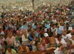 Dia de Santa Luzia é comemorado em Caruaru - Santa é considerada 'Protetora dos Olhos' pelos católicos.