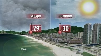 Chuva deve dar uma trégua na Região Metropolitana do Rio no fim de semana - No sábado (14), a alta umidade do ar ainda vai favorecer a formação de muitas nuvens sobre o estado. Mas só há previsão de chuva fraca e rápida para a Região Serrana e os municípios que fazem divisa com Minas Gerais.
