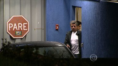 Rogério Tolentino é levado para penitenciária na Grande BH - Réu do mensalão se entregou na Polícia Federal
