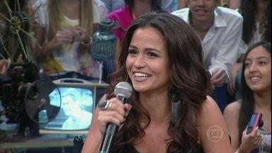 Nanda Costa relembra história de Salve Jorge - Atriz comenta como foi participar da famosa novela