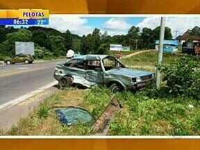 Quinze pessoas já morreram em acidentes de trânsito desde o início do feriado de Natal - Uma das mortes aconteceu nessa segunda-feira, em Carlos Barbosa, RS.