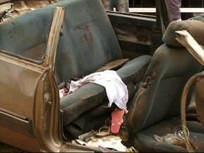 Seis pessoas ficam feridas em acidente na rodovia dos Bandeirantes em Jundiaí - Seis pessoas ficaram feridas em um acidente na rodovia dos Bandeirantes na tarde desta segunda-feira (23), em Jundiaí (SP). O motorista do carro perdeu o controle da direção e capotou. Um bebê de dois meses foi internado em estado grave.