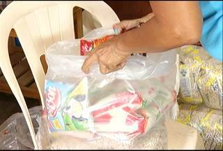 Sem campanha, Pastoral do Menor arrecada 2,5 toneladas de alimentos - Campanha Natal Sem Fome não foi realizada este ano.