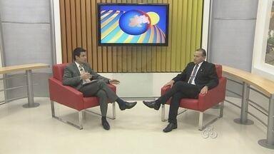 Bom Dia amazônia conversa com Juraci Jorge da Silva, procurador geral de Rondônia - Nomeação do procurador aconteceu no dia 1 de outubro de 2013, em Rondônia. Ele explica como funciona a Procuradoria Geral do Estado.