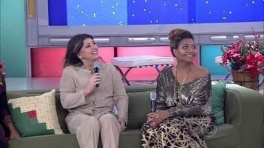Convidados falam sobre o que fazem no Natal - Gaby Amarantos faz questão de passar a data com o filho Davi
