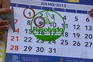 Calendário JPB: confira casos que foi resolvidos em bairros de João Pessoa em 2013 - Relembre problemas que foram solucionados com ajuda do quadro Calendário JPB.