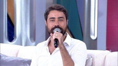 Ricardo Pereira deseja um ano tranquilo - O ator quer curtir o novo ano com sua família