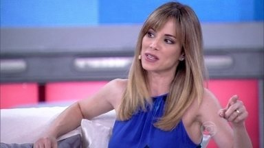 Ana Furtado: 'Edito principalmente pensamentos tristes' - Atriz diz que dá para se educar a pensar só coisas positivas