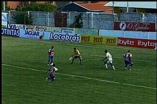 Waldison faz boa jogada, demora a chutar, mas deixa Edinho na cara do gol, mas ele erra - Fortaleza perde nova chance de abrir o placar