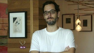 Leonardo, participante do Jogo de Panelas IX, relembra jantar - Cineasta carioca participou da segunda edição do reality