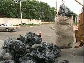 Empresas que produzem muito lixo precisam ter plano de gerenciamento de resíduos - A prefeitura não recolhe o lixo dos chamados grandes geradores.