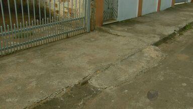 Moradores de Alfenas (MG) são notificados para regularizar calçadas no município - Moradores de Alfenas (MG) são notificados para regularizar calçadas no município