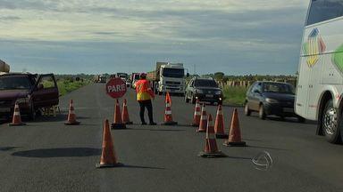 Obras no macroanel rodoviário continuam paralisadas - Ainda não há uma definição para quando as obras vão terminar