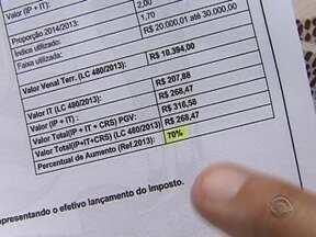 Secretário da Fazenda fala sobre o aumento do IPTU em Florianópolis - Secretário da Fazenda fala sobre o aumento do IPTU em Florianópolis.