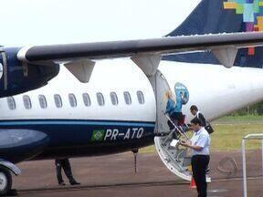Companhia aérea traz benefícios para Três Lagoas - A chegada de mais uma companhia aérea em Três Lagoas, trouxe benefícios para muita gente.