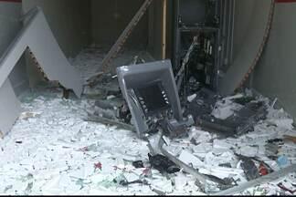 JPB2JP: Ladrões explodem caixa eletrônico na cidade de Gurjão - Crime no Cariri paraibano