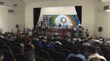 Prefeito sanciona Plano Diretor Urbano e Ambiental de Manaus - Plano Diretor foi sancionado na tarde desta quinta-feira, pelo Prefeito Arthur Neto; solenidade de assinatura ocorreu no auditório da prefeitura de Manaus.