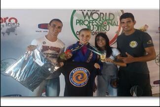 Mogiana vence seletiva para Mundial e bombeiros vão bem em competição estadual - A lutadora de jiu-jítsu, Thaís Coyado, conquistou a medalha de ouro em sua categoria, até 60kg, e no absoluto