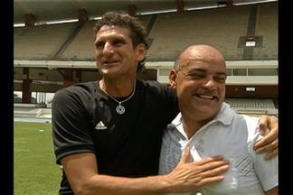 Livro homenageia Edil e Agnaldo, 'Seu Boneco' - Jornalista Ferreira da Costa escreve livro homenageando 100 craques do futebol paraense.
