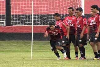 Atlético-GO tenta esquecer derrota na primeira rodada do Goianão - Dragão já pensa no Goianésia, adversário da próxima quarta-feira, em Goiânia.
