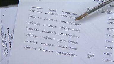 Cremesp investiga morte de jovem atendida 8 vezes em pronto-socorro - Luara Ribeiro morreu após passar por cirurgia na Santa Casa de Franca.