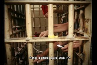 OAB Pará inicia vistoria que pretende alcançar as 42 unidades prisionais do estado - As centrais de triagem da região metropolitana de Belém foram as primeiras a receberem os advogados.