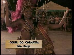 Escolhida a corte do carnaval de São Borja, RS - Confira quem vai animar a folia na cidade.