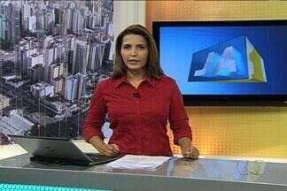 Confira os destaques do Jornal Anhanguera 1ª edição - Usuários do transporte coletivo protestam contra qualidade do serviço, no Terminal Praça da Bíblia, em Goiânia.