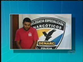 Homem é preso com drogas escondidas em um micro-ondas - Homem é preso com drogas escondidas em um micro-ondas