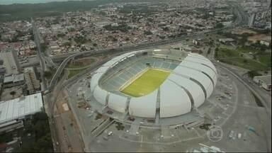 Arena das Dunas é inaugurada - É o sétimo estádio da Copa a ser entregue. Formato e nome da arena são uma homenagem a uma das principais atrações turísticas do Rio Grande do Norte. O estádio custou R$ 423 milhões. Quatro jogos serão realizados no local.