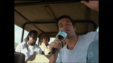 Relembre: Vídeo Show acompanhou as gravações de Caras & Bocas na África do Sul - Novela está de volta à telinha no Vale a Pena Ver de Novo