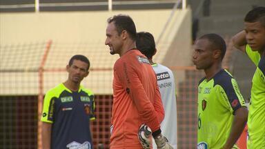 Magrão está invicto contra o Náutico na Ilha do Retiro - Em quase 10 anos no Sport, goleiro nunca perdeu para o Timbu em casa