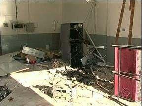 Ladrões explodem dois caixas eletrônicos na região - Em 30 minutos, ladrões explodiram um caixa eletrônico em Paranapoema e logo em seguida, outro em Jardim Olinda.