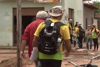 Cidades da região tocantina estão participando de mais uma etapa do Projeto Rondon - A equipe vai passar por 15 cidades. Os trabalhos começaram por Davinópolis, que fica a oito quilômetros de Imperatriz.