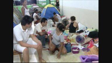 Busca por vagas em escolas públicas em Ariquemes, pais dormem em filas - Quatro novas creches estão previstas para o ano de 2014.