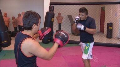 Samuel Aguir corre atrás do sonho de se firmar no MMA - Campeão de jiu-jitsu, lutador, de apenas 18 anos, inicia trajetória nas artes marcias mistas