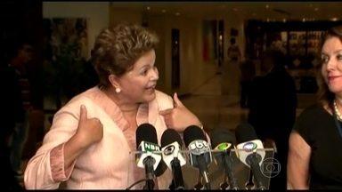 Oposição entra com representação contra Presidente Dilma Rousseff - Motivo foram as despesas da passagem da comitiva presidencial por Lisboa. PSDB entregou a representação contra a presidente na Comissão de Ética Pública da Presidência e na PGR.