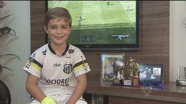 Garoto de São Vicente começa a se destacar no futsal - Gabriel já é uma das revelações do Santos