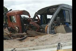 Criança morre em acidente na BR-010 - Acidente ocorreu na tarde da última quinta-feira.