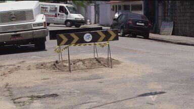 Prefeitura de Cubatão libera obras da Sabesp - Trabalhos estavam paralisados desde segunda-feira (27).