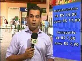 Parque Nacional do Iguaçu muda valores do estacionamento e do transporte - Os valores começam a valer neste sábado