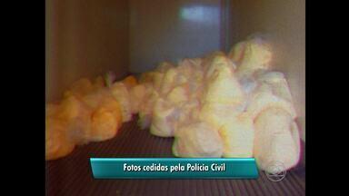 Trio é preso suspeito de envolvimento em quadrilha de roubo de cargas, no Agreste de PE - Polícia Civil recuperou carga de uma tonelada de creme de leite.