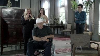 Pilar choca a família ao revelar segredo - Ela conta como planejou o acidente para se livrar de Mariah. César afirma que Pilar destruiu sua vida, mas permite que a ex-mulher crie seu filho com Aline