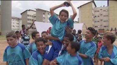 Final do campeonato sub-13 do Bolsão 9 agita Cubatão - A garotada brilhou e mostrou habilidade na grande decisão do torneio de futebol.