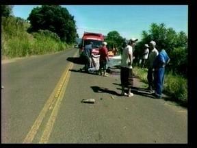 Indígena morre em acidente de trânsito na SC-283 em Arvoredo - Indígena morre em acidente de trânsito na SC-283 em Arvoredo