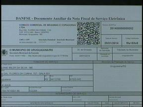 Uruguaiana, RS, já conta um sistema de nota fiscal eletrônica - Maioria dos empresários ainda não solicitou o serviço.